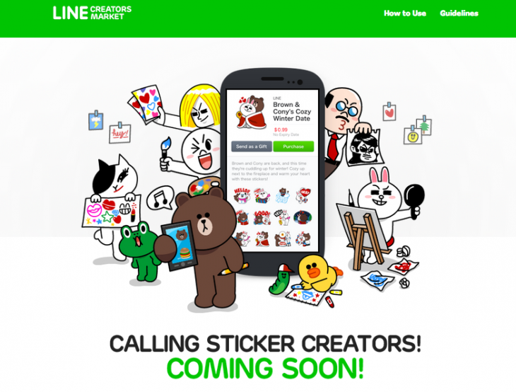 Screen shot 2014 02 26 at PM 02.33.05 730x554 Chat app Line will soon let you sell your own stickers, unveils plans for cheap call service