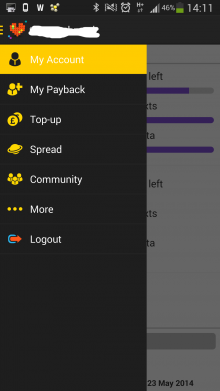 Screenshot 2014 02 28 14 11 57 220x391 GiffGaff, the UK people powered mobile network, launches native Android app