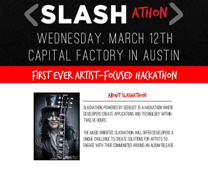 Slashathon 730x609 SXSlashathon: How rock legend Slash hopes to hack music discovery