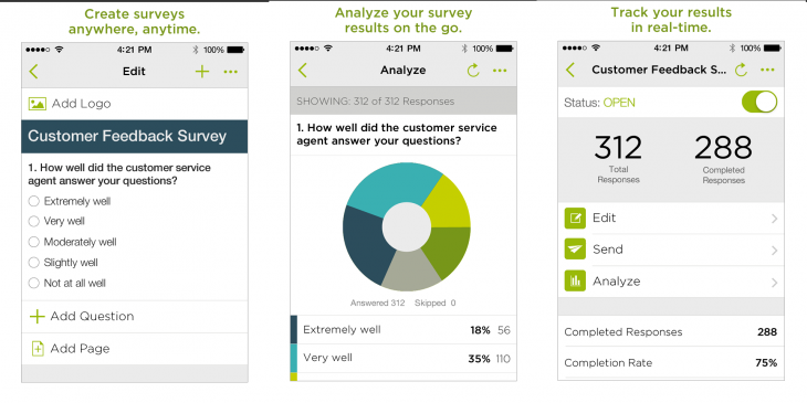 SurveyMonkey App 730x365 SurveyMonkey CEO says Asia could be its biggest market, but an Android app is critical