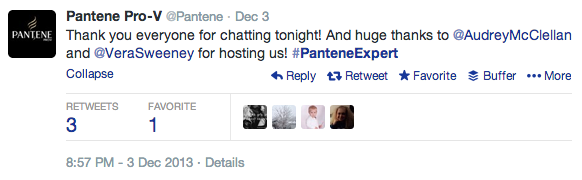 Twitter Chat Pantene 7 ways to improve the quality of your email list with social media