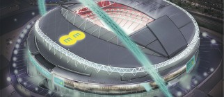 Wembley Connected By EE – Aerial