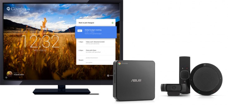 chrome meetings 730x337 Google launches Chromebox for Meetings, a $999 hardware platform from ASUS available today in the US