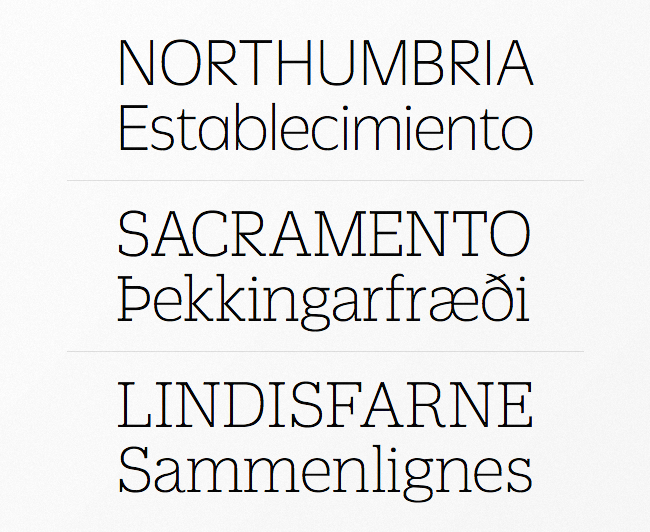 duplicate The best typefaces from this past month