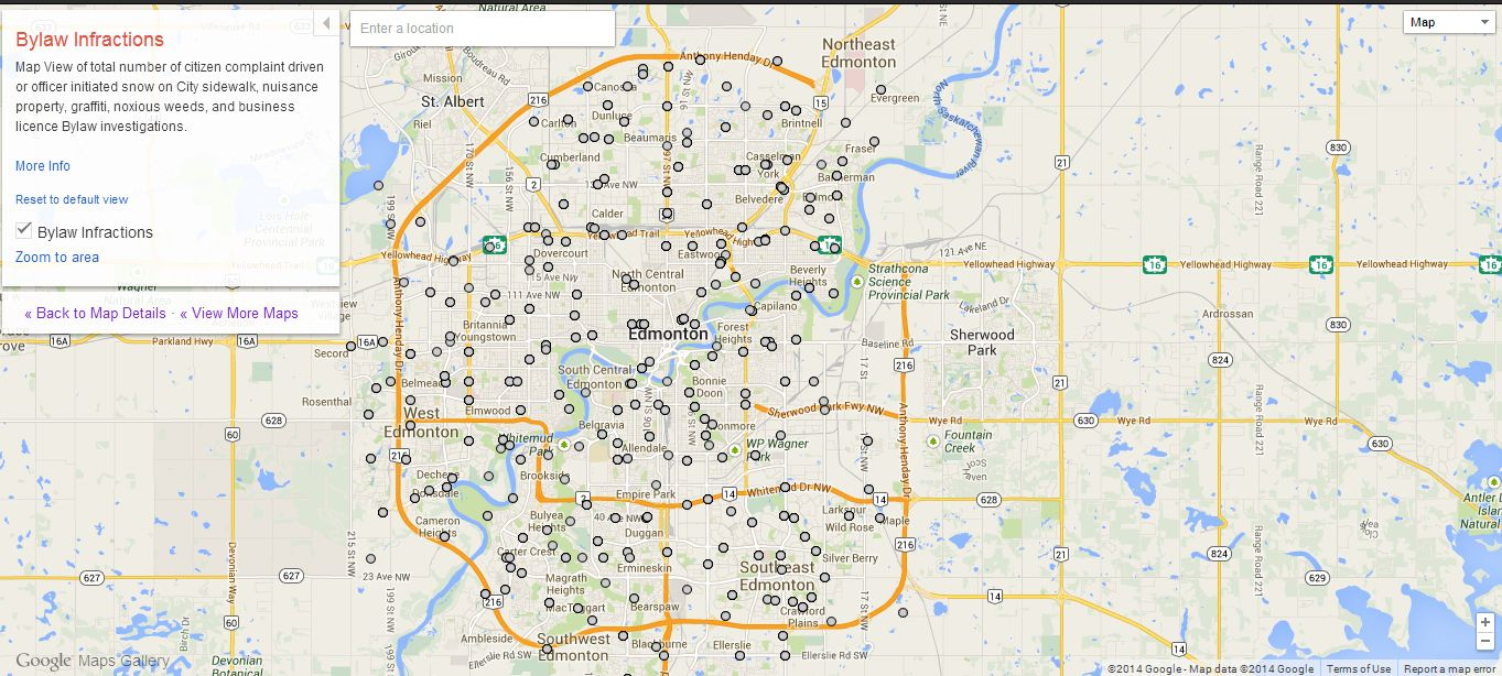 edmonton Google launches Maps Gallery, a new digital atlas that lets you explore third party maps
