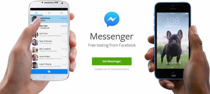 facebook messenger android ios 730x327 Why large tech companies are hopping on the app unbundling trend