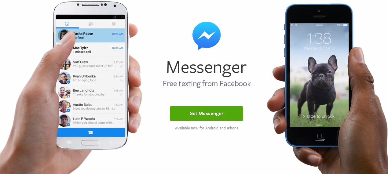 facebook messenger android ios Facebook Messenger for Windows will shut down on March 3