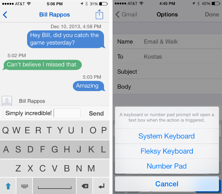 fleksy1 Fleksy opens its alternative keyboard to all iOS developers
