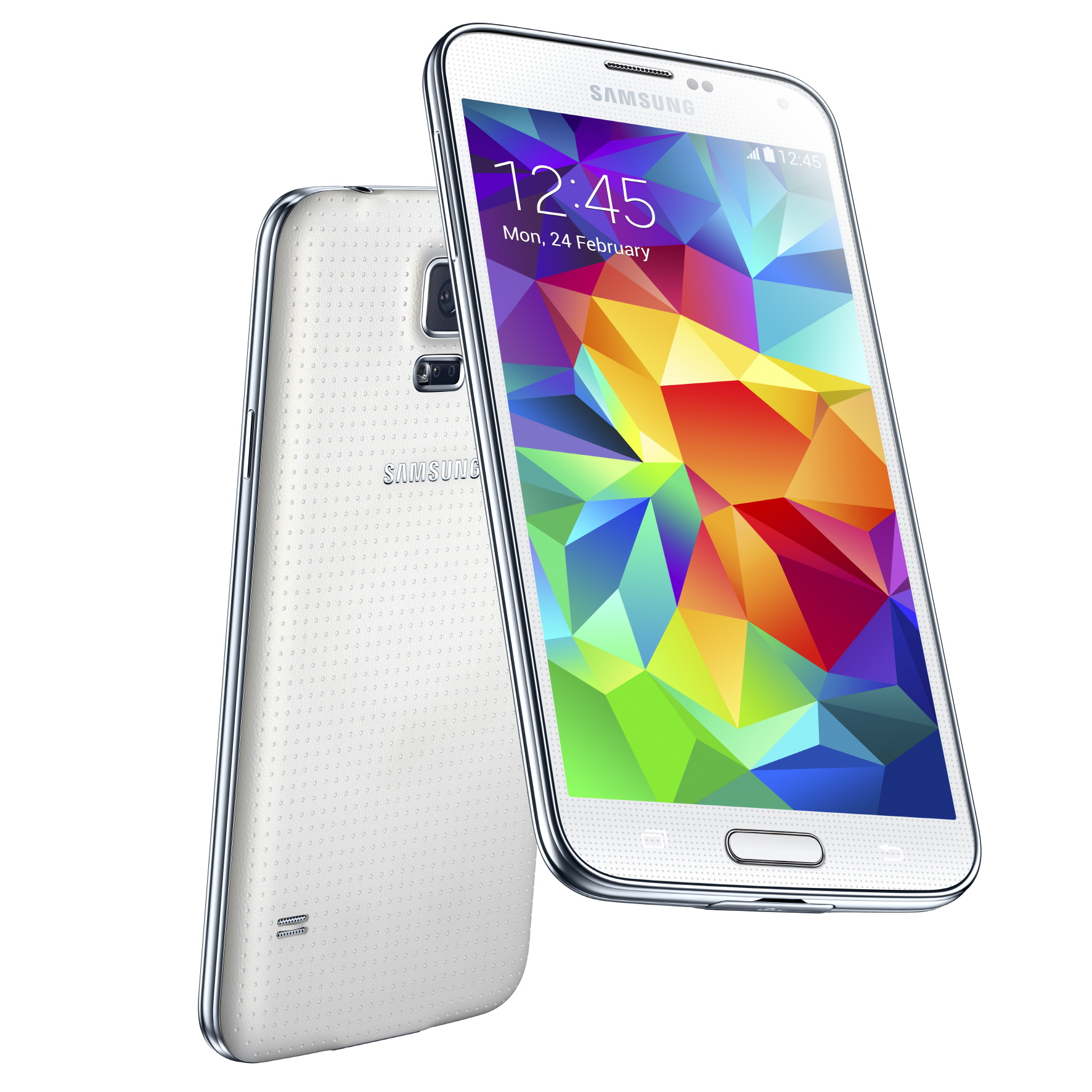 Samsung Galaxy S5 Lands With Fingerprint Scanner  Heart Rate Monitor