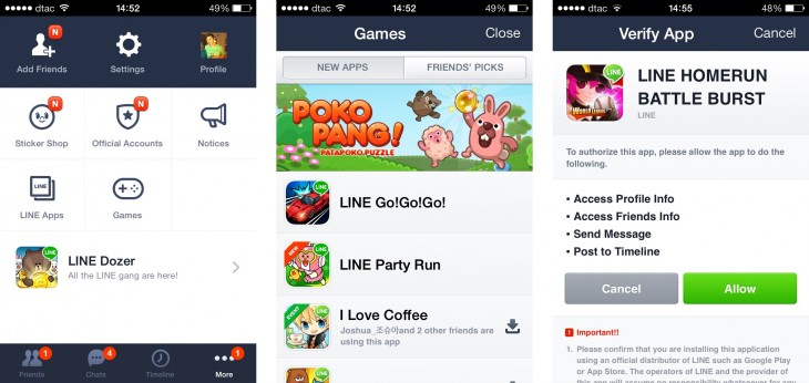 games1 730x346 Flappy Bird is a validation for Asias messaging app giants and their global plans