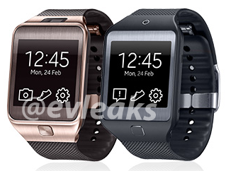 gear2 Leaked image suggests Samsung will launch two new versions of its Galaxy Gear smartwatch