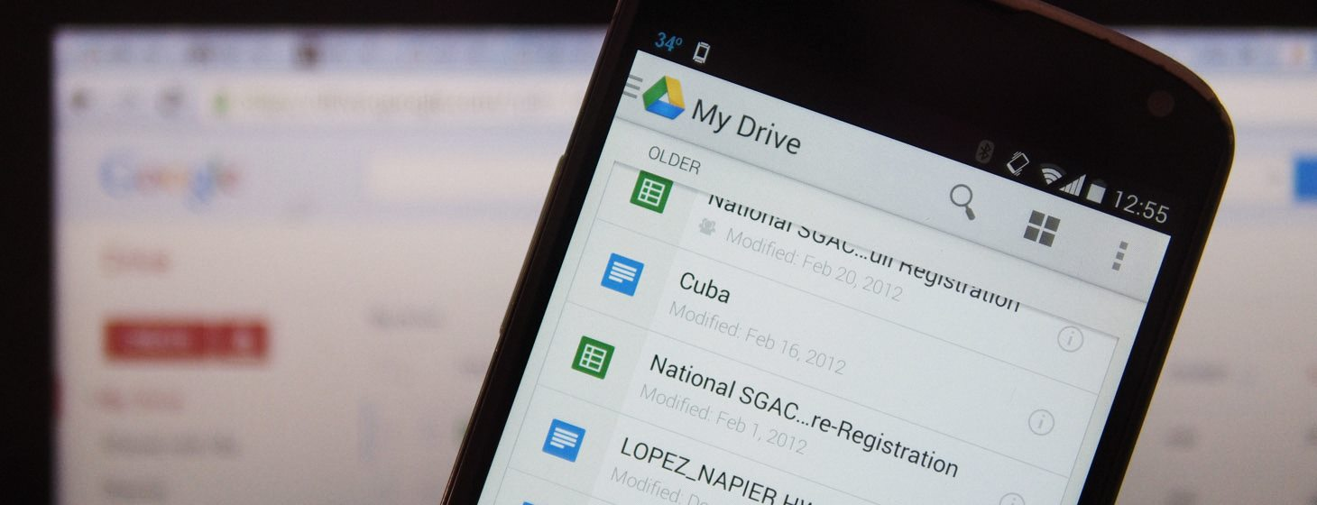 Google Drive for Android gets Material Design and updated search, sharing and PDF tools - The Next Web