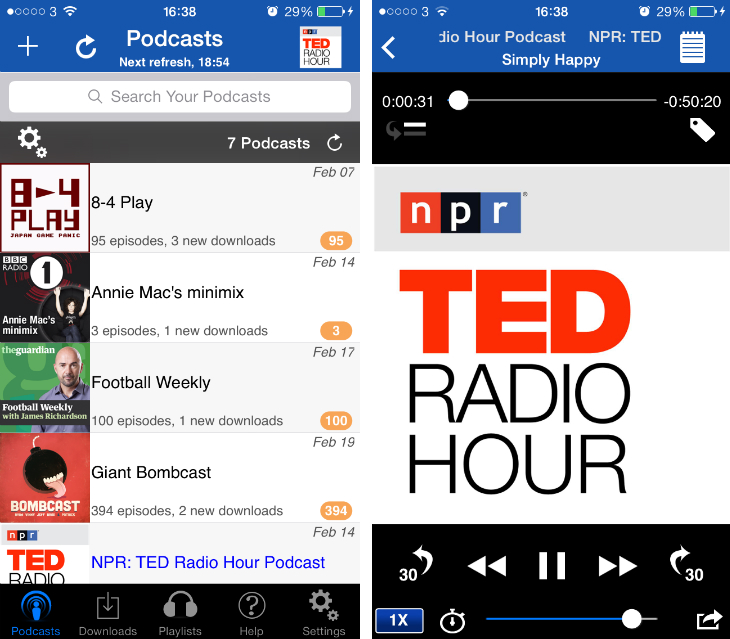 icatcher1 9 of the best podcast apps for the iPhone and iPad