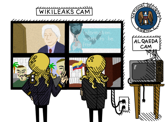 nsa wl US tracked Wikileaks Web traffic and encouraged action against its founder: NSA leak