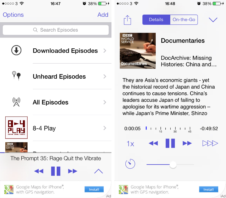 podwrangler1 9 of the best podcast apps for the iPhone and iPad