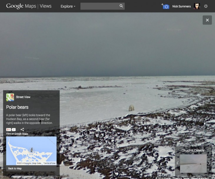 resource6 730x608 Google releases 360 degree Street View photos for the polar bear capital of the world