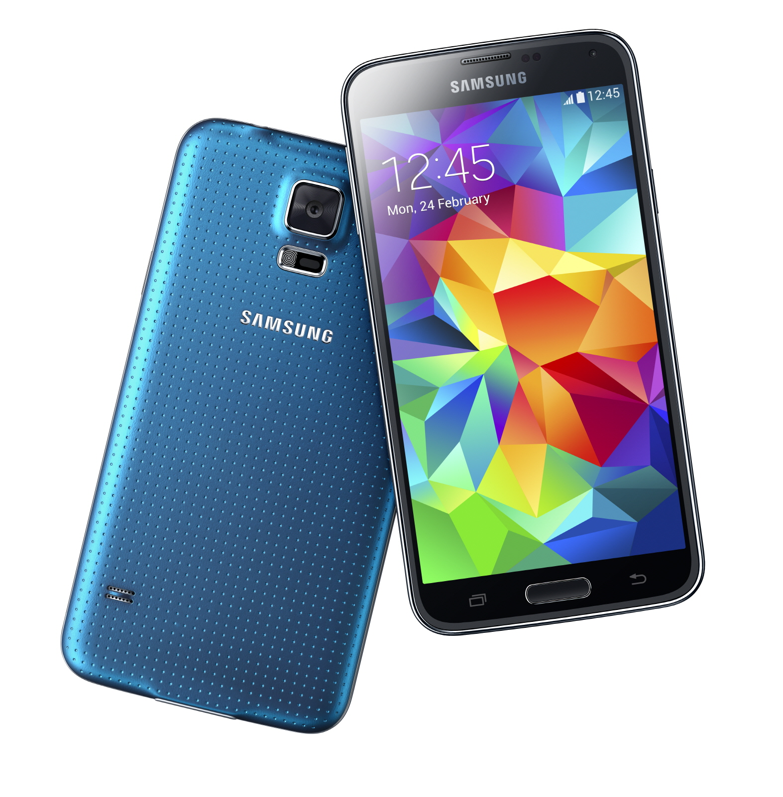 samsung galaxy s5 lands with fingerprint scanner heart. Black Bedroom Furniture Sets. Home Design Ideas