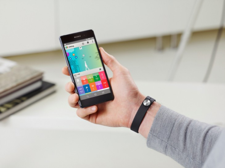 smartbandapp 730x546 Sony will launch its Core and SmartBand fitness tracker with new Lifelog app in March