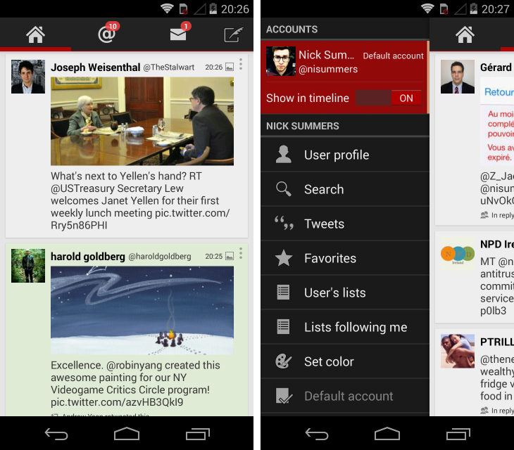 twidere Fed up with Twitters official Android app? Try these alternatives