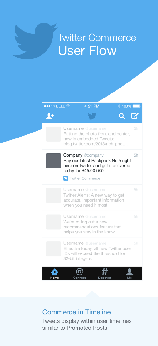 twitter commerce 1 Leaked documents reportedly show what Twitters Commerce product will look like