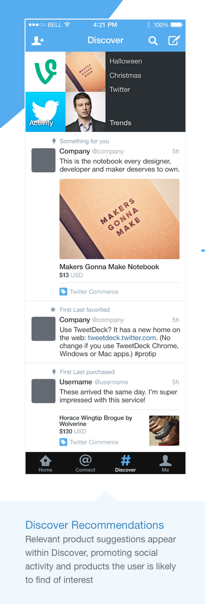 twitter commerce 2 Leaked documents reportedly show what Twitters Commerce product will look like