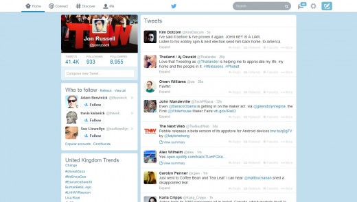 twt1 520x295 The redesigned Twitter.com has now rolled out to all users