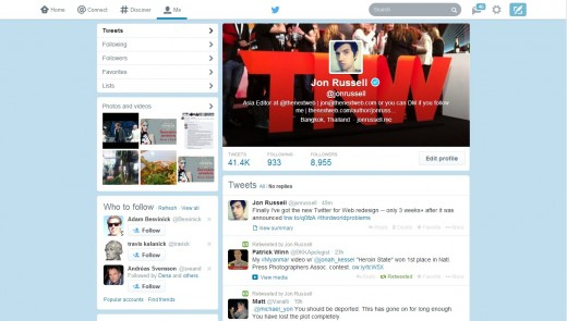 twt3 520x295 The redesigned Twitter.com has now rolled out to all users