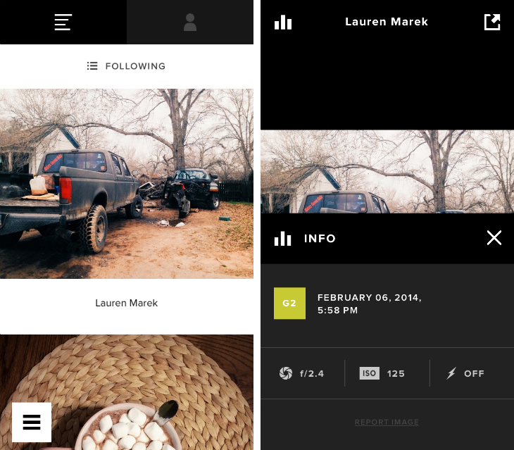 vsco2 VSCO Cam for iPhone takes on Instagram with a photo feed that lets you follow other people