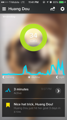 whistle 1 220x390 Whistle adds Android support to its wearable activity tracker for dogs