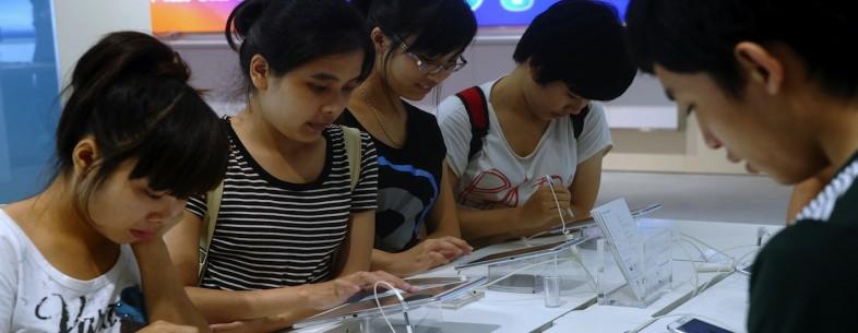 Using smartphones