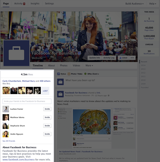 851580 745031438849658 449169299 n Facebook revamps Pages on the desktop with new one column Timeline design to match user profiles