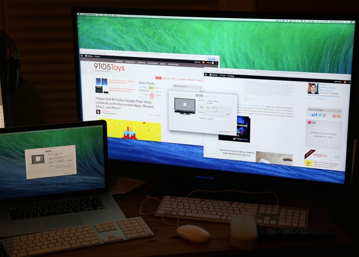 9to5Mac Retina 730x524 Apples first Mac OS X 10.9.3 beta boosts support for connected 4K displays at retina resolution