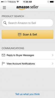 Amazon launches a dedicated iPhone app for sellers, but its US only for now