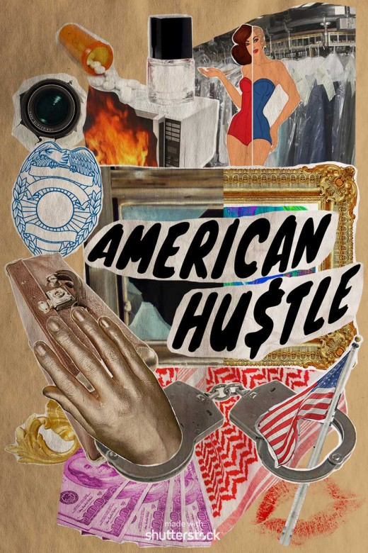 AmericanHustle 520x780 Oscar pop! A pop art spin on the 2014 Academy Award nominees
