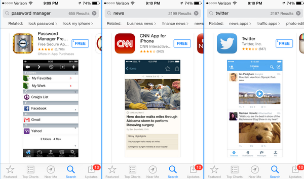 App Store related 1 Apple is testing related search suggestions within the App Store (Update: Will roll out soon)