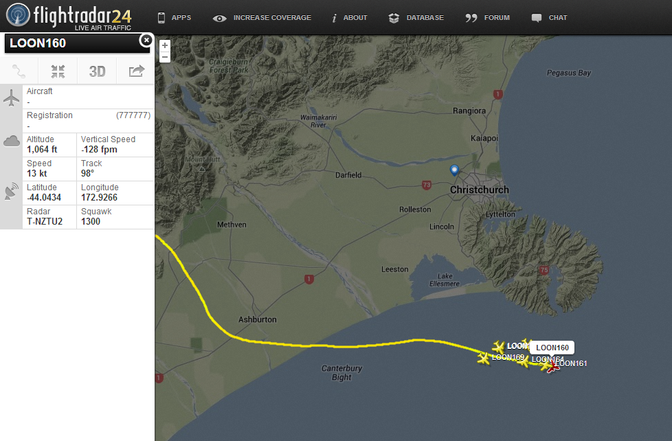 BhoXxEECUAApg0D Track Googles Project Loon Internet balloons in real time as they travel the world