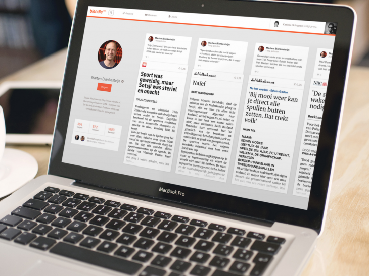 Blendle 1 730x547 Dutch journalism startup Blendle wants to create an iTunes for newspaper and magazine articles
