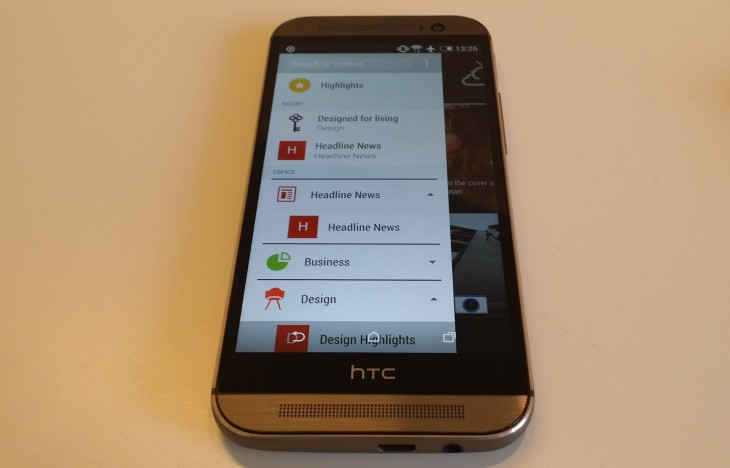 BlinkFeed 730x468 HTC One (M8) officially launched with 5 1080p display, 2.3GHz quad core processor and Sense 6 UI