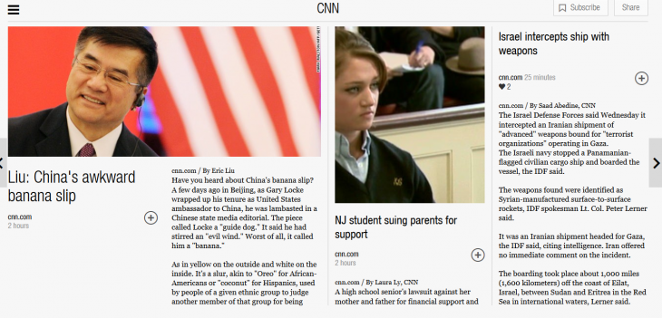 FLipboard 730x351 Flipboard acquires fellow content aggregator Zite from CNN