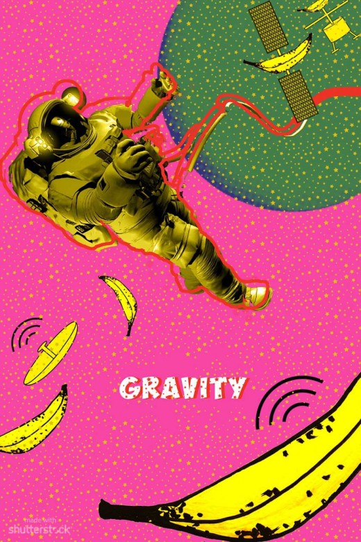 Gravity PopArt Poster 520x780 Oscar pop! A pop art spin on the 2014 Academy Award nominees
