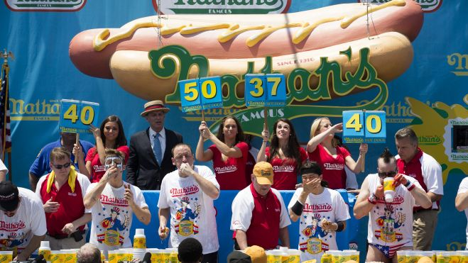 Hot Dog Contest Higg 1 Overcoming the user engagement crisis with gamification