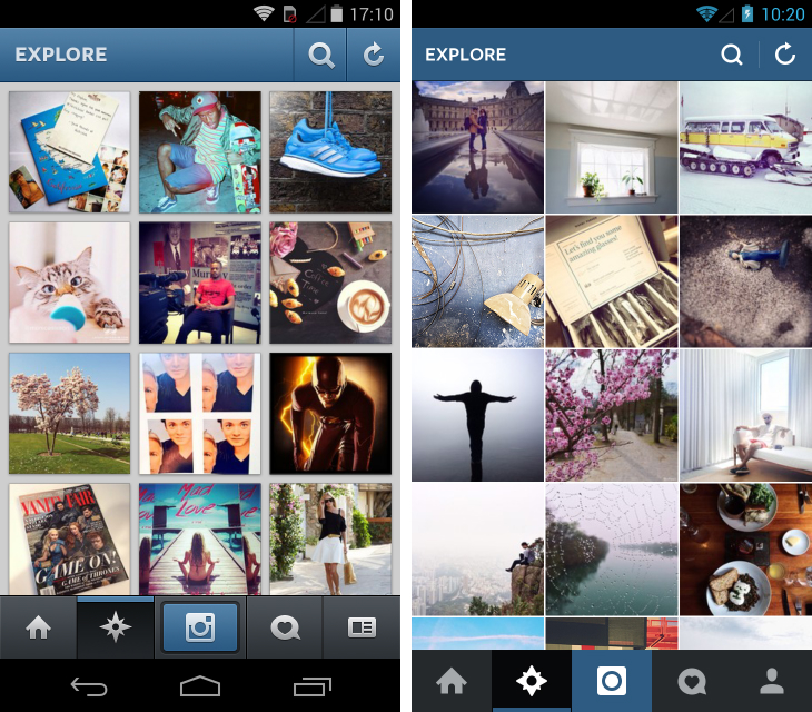 Instaedit4 Instagram for Android gets faster, more responsive and a gorgeous flat redesign