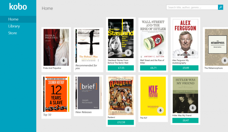 KOBO 730x423 Kobo relaunches its e reading app for Windows 8, and a Windows Phone version is on the way
