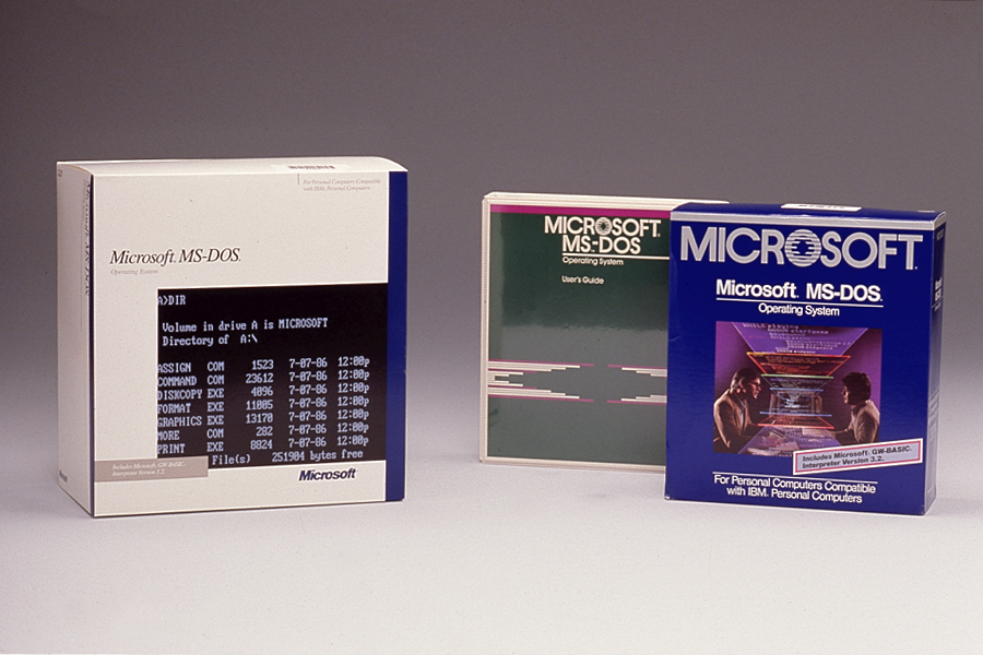 MS DOSProducts 1523 583072E2 Microsoft and Computer History Museum release source code for MS DOS 1.1 and 2.0, Word for Windows 1.1a