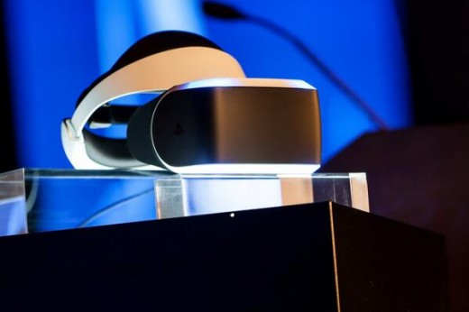 Morpheus 2 520x346 Sony unveils a virtual reality device for the PlayStation 4, Project Morpheus