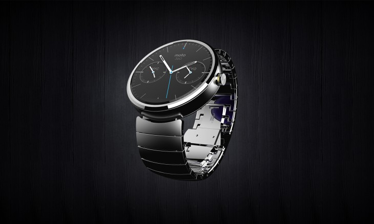 Moto360 Hero full view Metal RGB 730x438 Motorola unveils the Moto 360, its first smartwatch running Googles new Android Wear platform