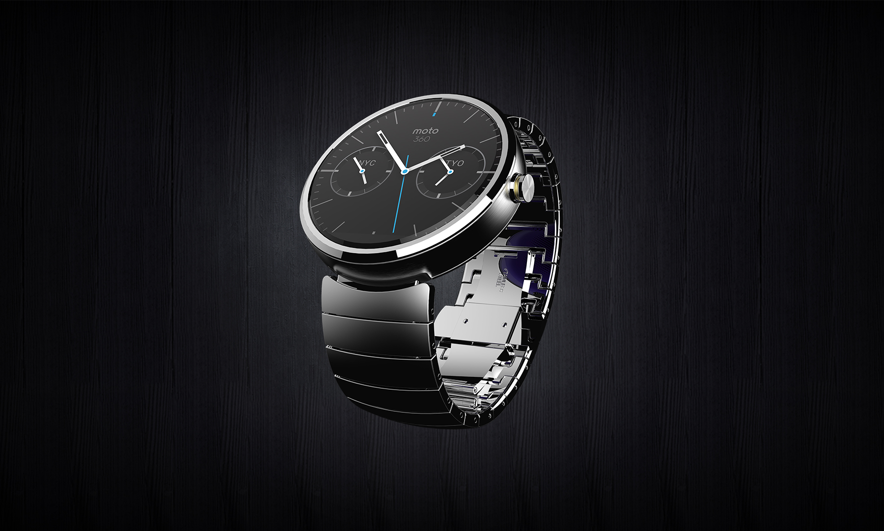 Motorola Unveils Moto 360 Android Wear Smartwatch