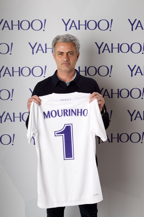 Mourinho Yahoo Yahoo scores Chelsea manager José Mourinho as its football ambassador and analyst
