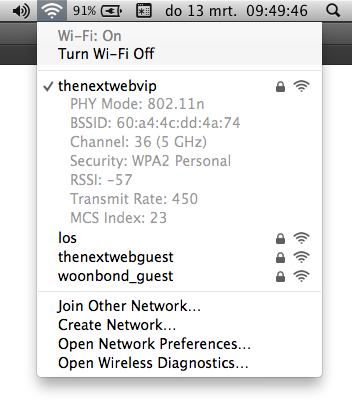 Screen Shot 2014 03 13 at 09.49.39 Did you know Mac OS X helps you optimize your home Wi Fi network? Heres how it works