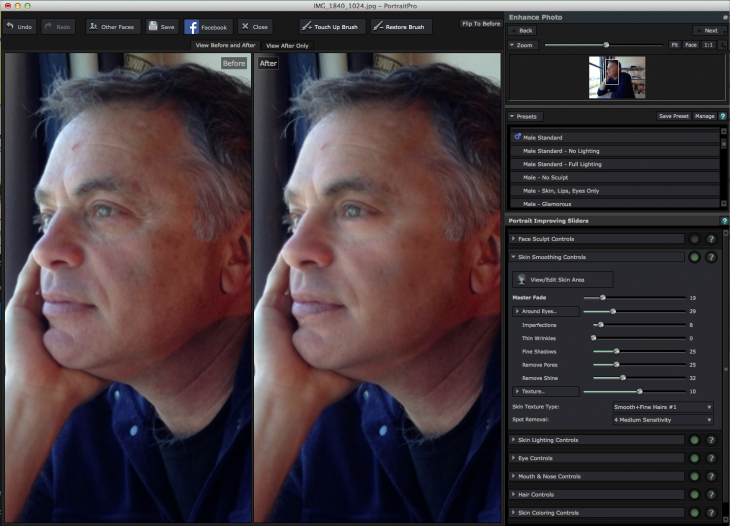 Screen Shot 2014 03 24 at 8.33.10 PM 730x526 Put your best face forward with PortraitPros airbrushing app for Mac and Windows